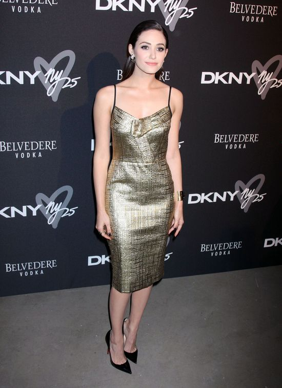 Emmy Rossum zawstydzona przez swojego ginekologa