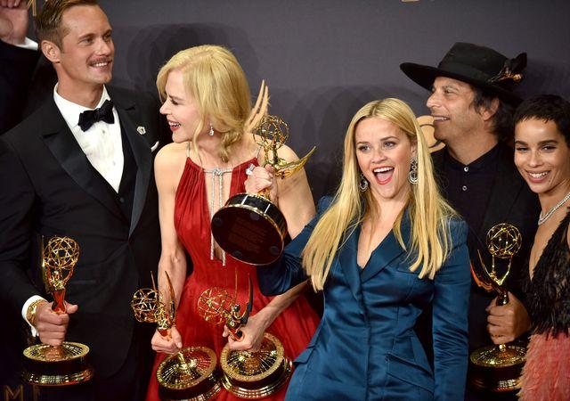 Emmy 2017 - smakowite fotki i nagrodzeni (ZDJĘCIA)