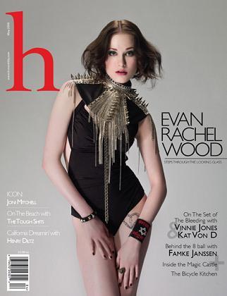 Evan Rachel Wood na okładce H Magazine