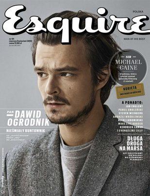 Dawid Ogrodnik w nowym Esquire: Były z nami kłopoty