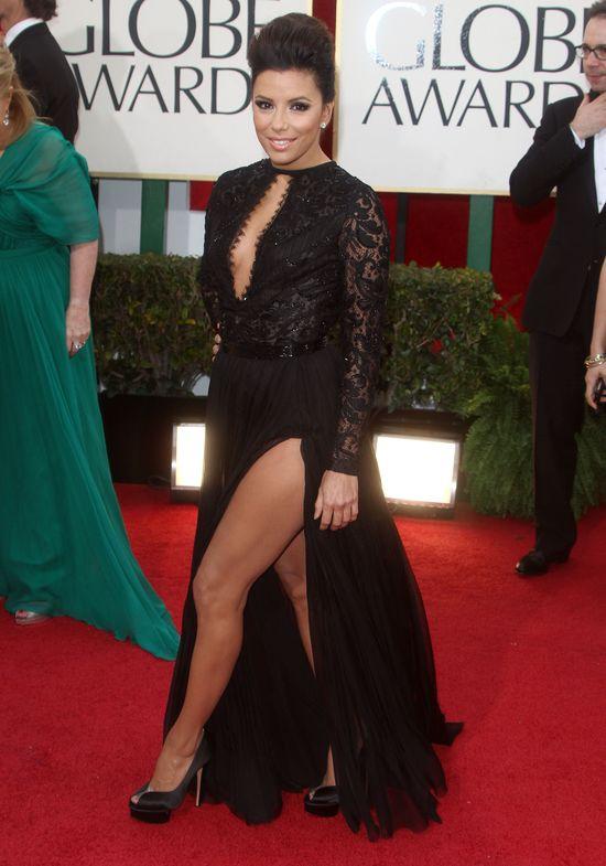 Eva Longoria kusi nogą (FOTO)