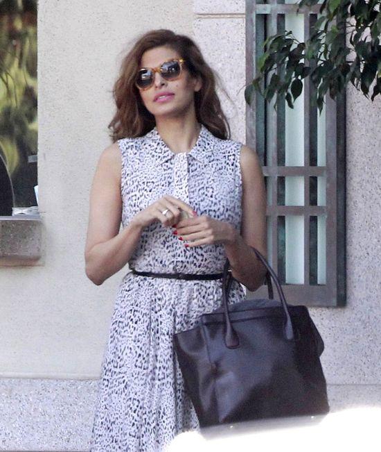 Tak Eva Mendes wygląda po urodzeniu córeczki (FOTO)