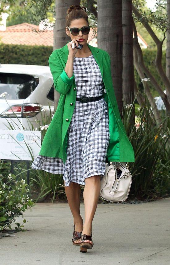 Eva Mendes całą drogę jechała po prąd (VIDEO)