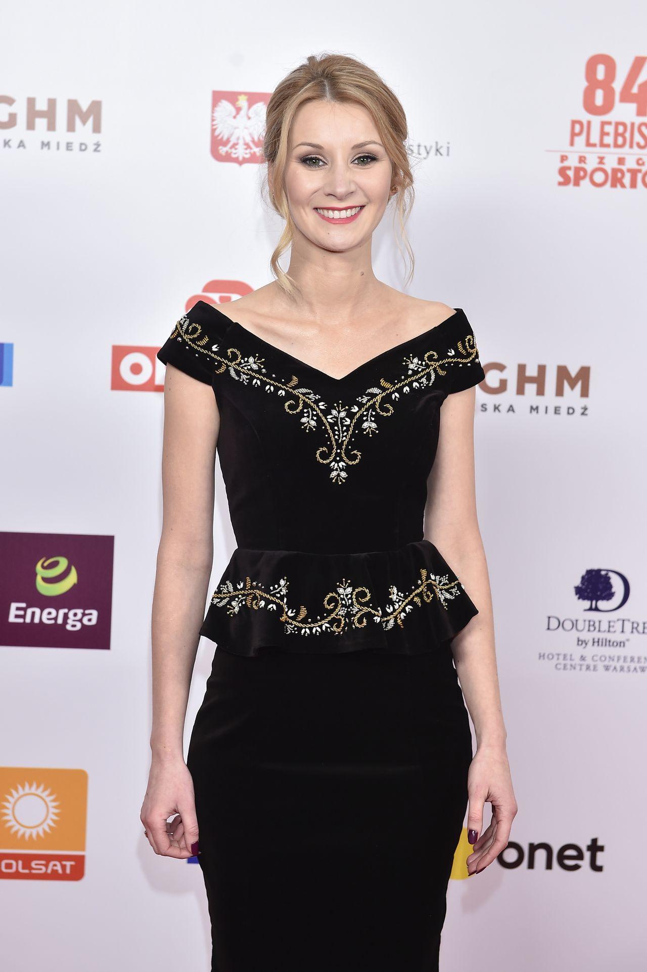 Żona Kamila Stocha reprezentowała męża na Gali Mistrzów Sportu