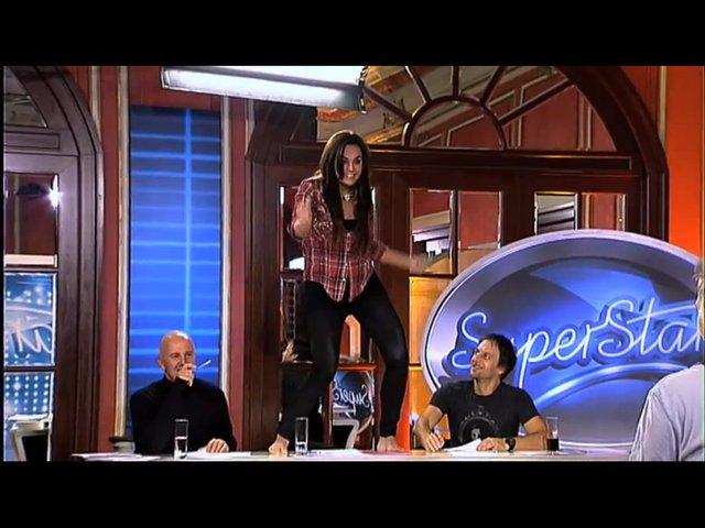 Ewa Farna gwiazdorzy na castingach show SuperStar? [VIDEO]