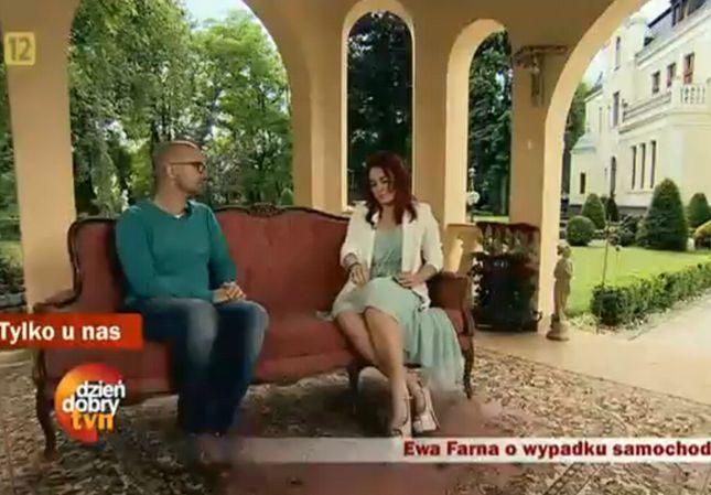 Ewa Farna popłakała się w czasie wywiadu