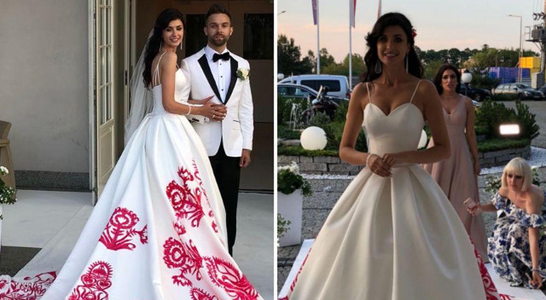 Ewa Mielnicka wyszła za mąż – jej suknia ślubna była niezwykła (ZDJĘCIA)
