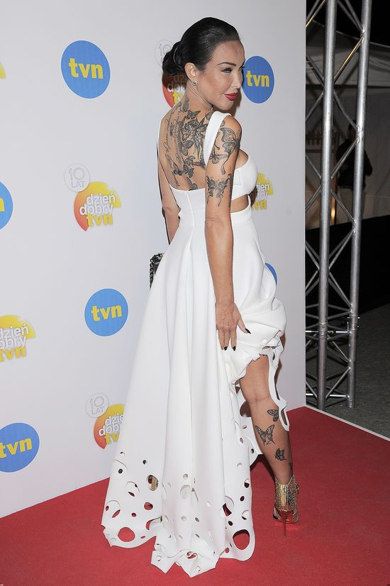 Wow! Ewa Minge cała w tatuażach (FOTO)