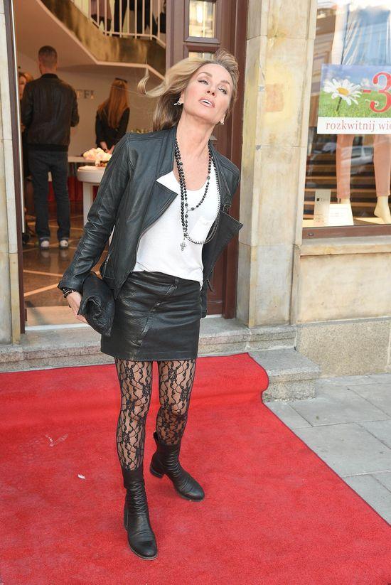 Żona Hollywood - Ewa Rich - na otwarciu butiku (FOTO)