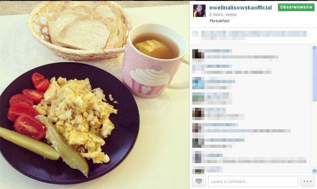 Ewelina Lisowska też pokazuje, co jada (FOTO)