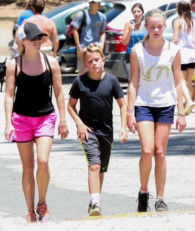 Reese Witherspoon z córką Avą i synem Deaconem na wycieczce