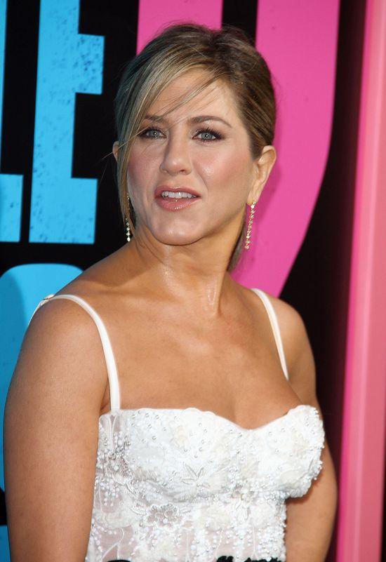 Jennifer Aniston na premierze Szefowie Wrogowie