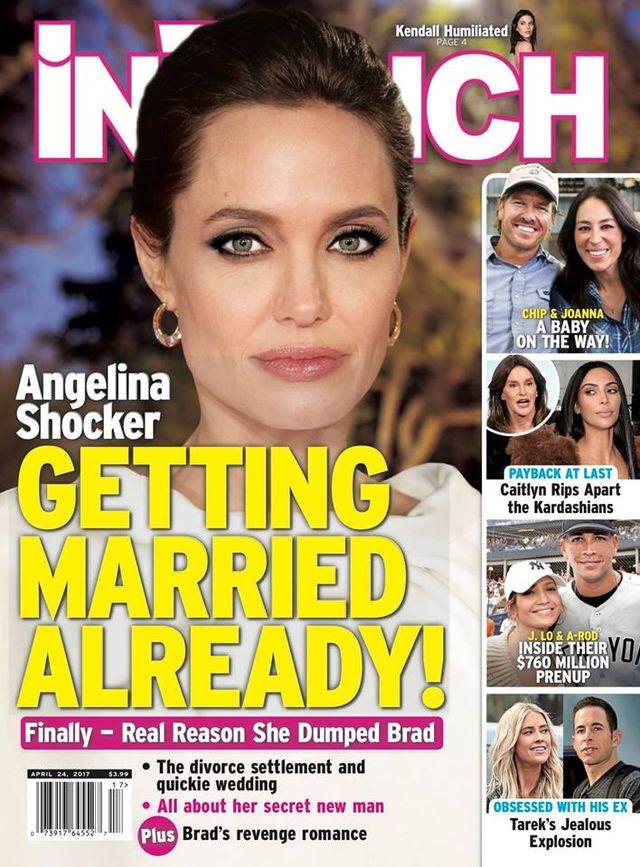 Tego jeszcze nie było. Angelina Jole (41 l.) od rozwodu z Bradem Pittem zdążyła już związać się z nowym mężczyzn, umierać na anoreksję, a teraz wyszła nawet za mąż.
