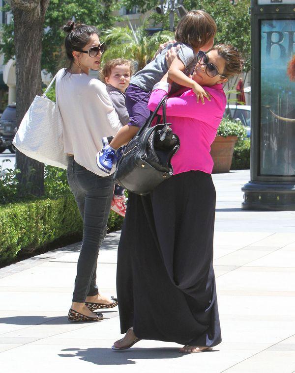 Kourtney Kardashian z synem Masonem