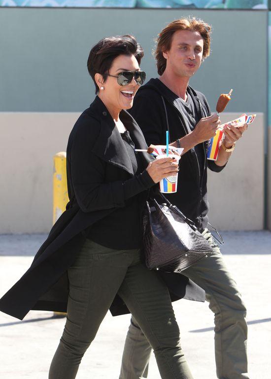 Kris Jenner zaadoptowała przyjeciela Kim