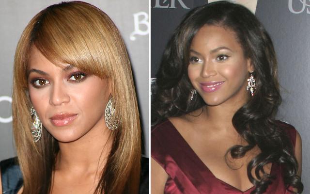 Beyonce w blondzie i w brązie