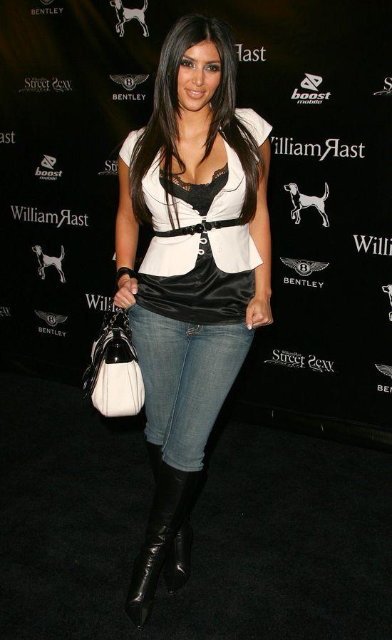 Kim Kardashian na początku kariery