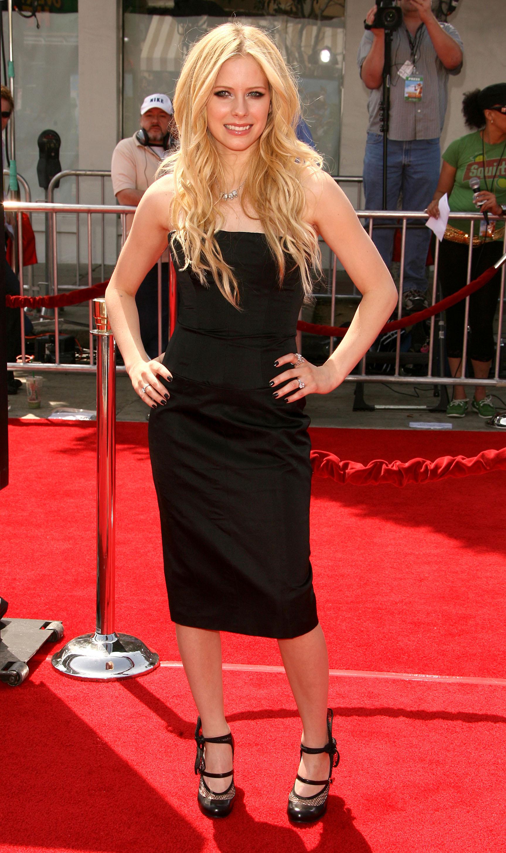 Stare zdjęcia Avril Lavigne