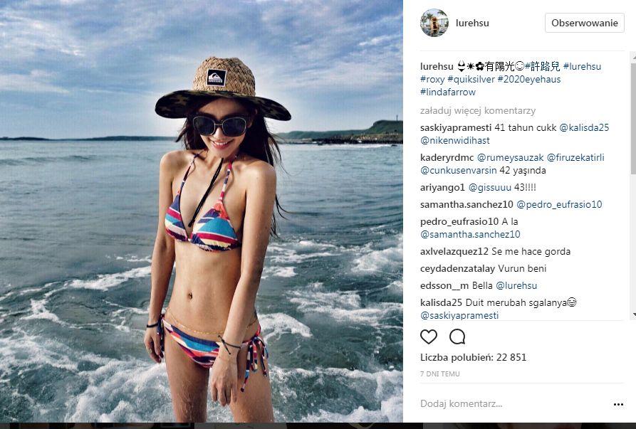 Trudno w to uwierzyć, ale Lure Hsu z Tajwanu ma 41 lat!