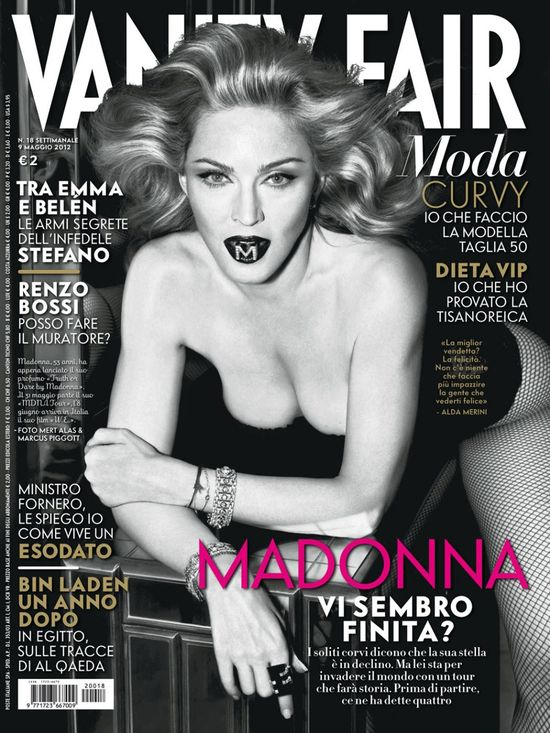 Madonna w Vanity Fair