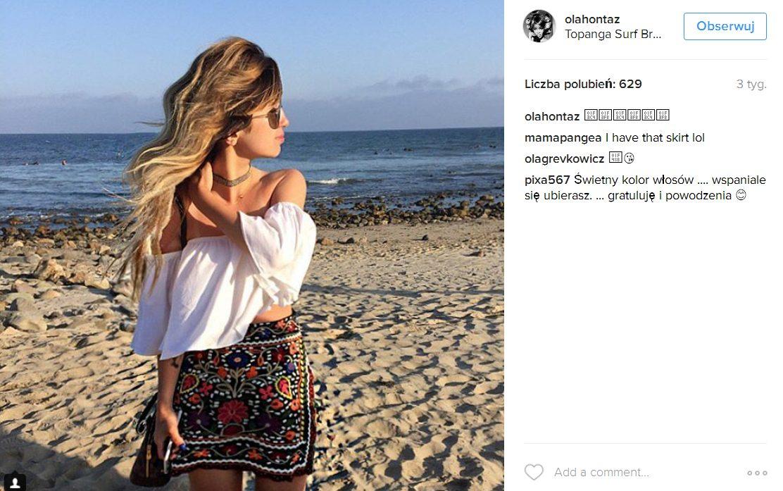 Ola, córka Kasi Kowalskiej, została blondynką