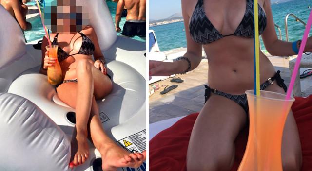 Anna Lucińska w bikini na wakacjach