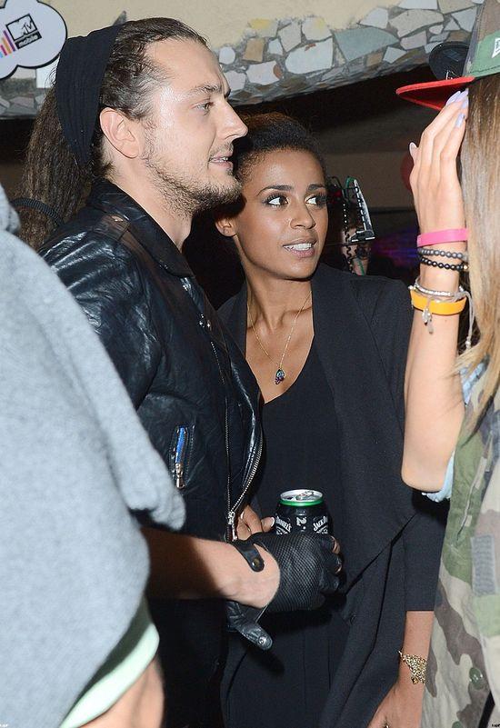 Aleksander Milwiw Baron z Olą Szwed na imprezie Pożegnanie lata z MTV Mobile, 2012 rok.