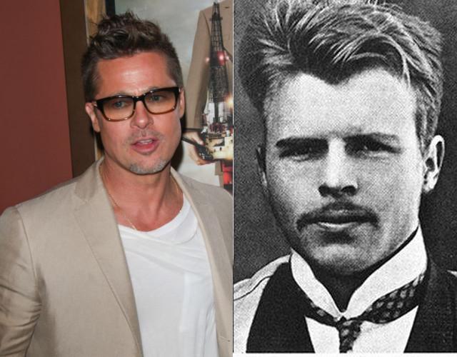 Brad Pitt ma coś w sobie Hermanna Rorschacha, szwajcarskiego psychiatry, który zmarł w 1922 roku