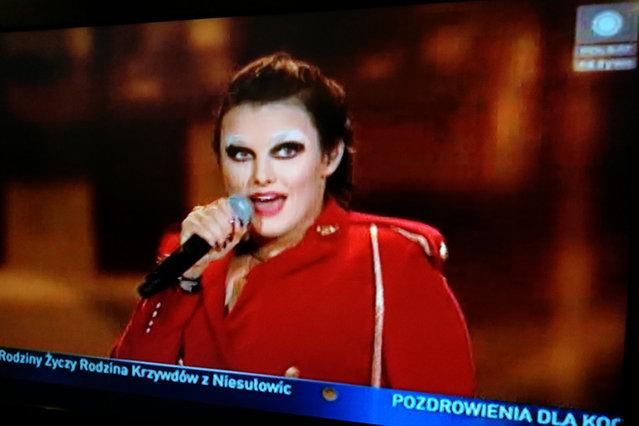 Ewa Farna wyśmiała TVP na Sylwestrze z Polsatem!