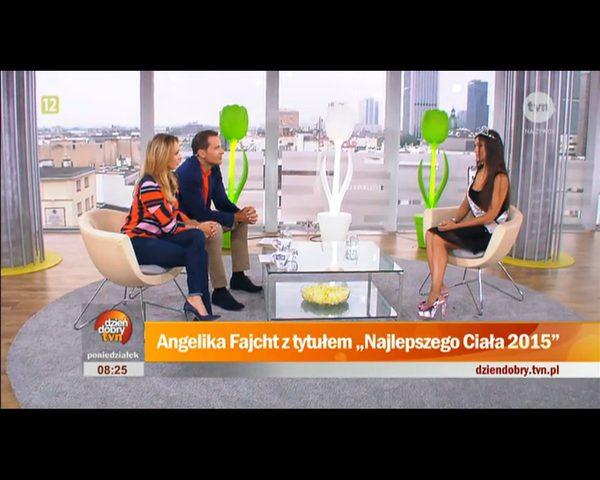 Angelika Fajcht: Czuję się UKORONOWANA