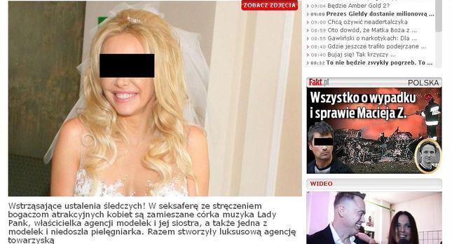 Fakt: Żona lidera Virgin podejrzewana o stręczycielstwo