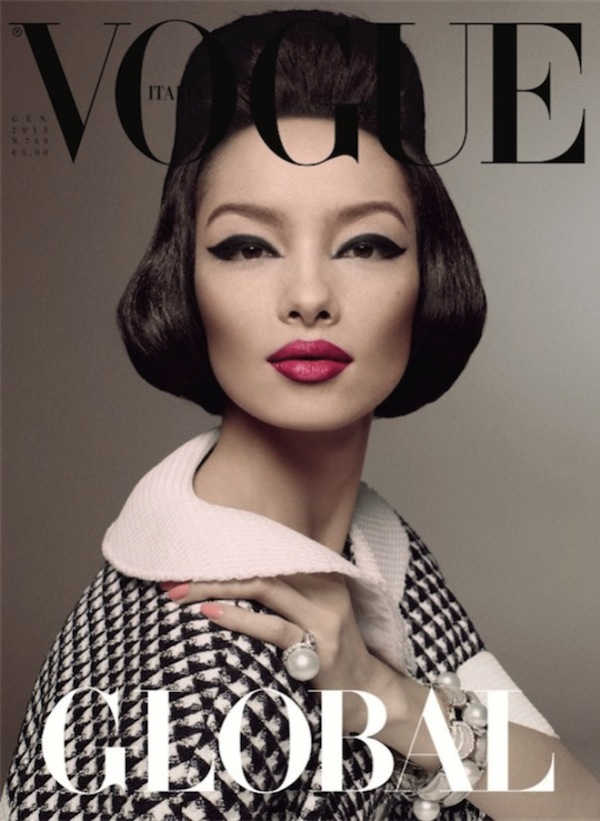 Fei Fei Sun - pierwsza Azjatka na okładce Vogue (FOTO)