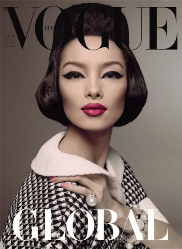 Fei Fei Sun - pierwsza Azjatka na ok�adce Vogue (FOTO)