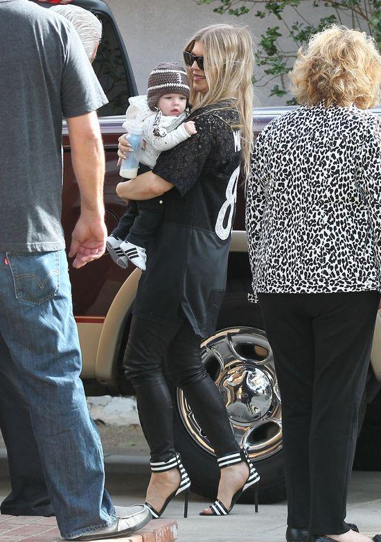 Fergie perfekcyjną mamą? (FOTO) dziecko