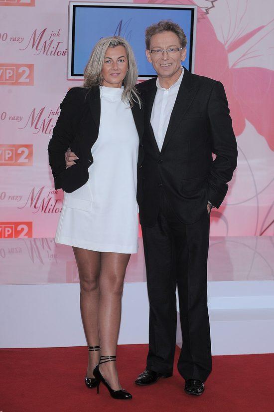 Jacek Borkowski z żoną Magdaleną Borkowską - miłość od pierwszego wejrzenia