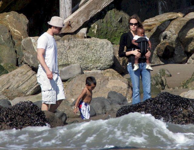 Brad Pitt w ko�cu zobaczy� swoje dzieci! Angelina Jolie zezwoli�a na...