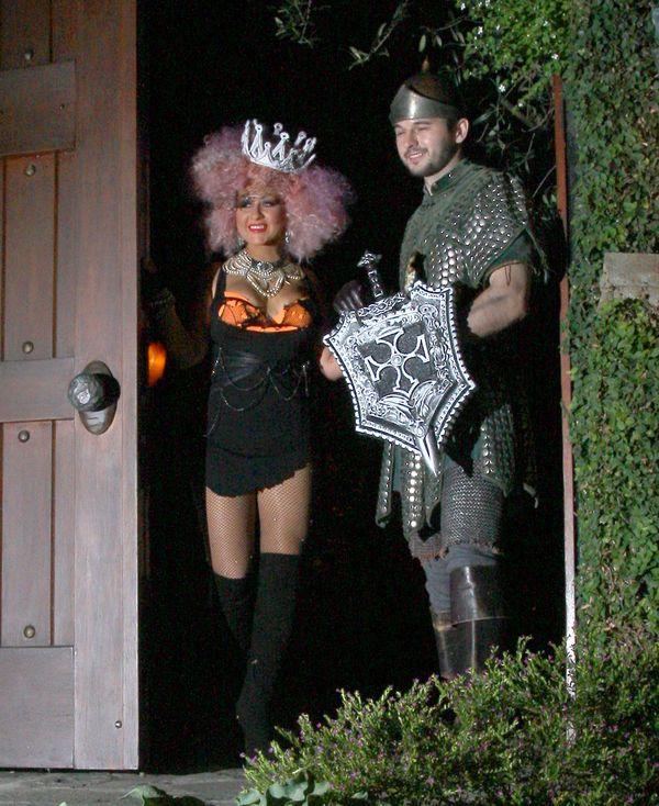 Za kogo przebrała się Christina Aguilera na Halloween? (FOTO