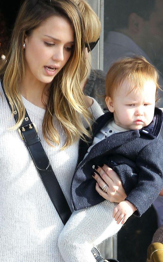 Czy córeczka Jessiki Alby jest naprawdę do niej podobna? (FO