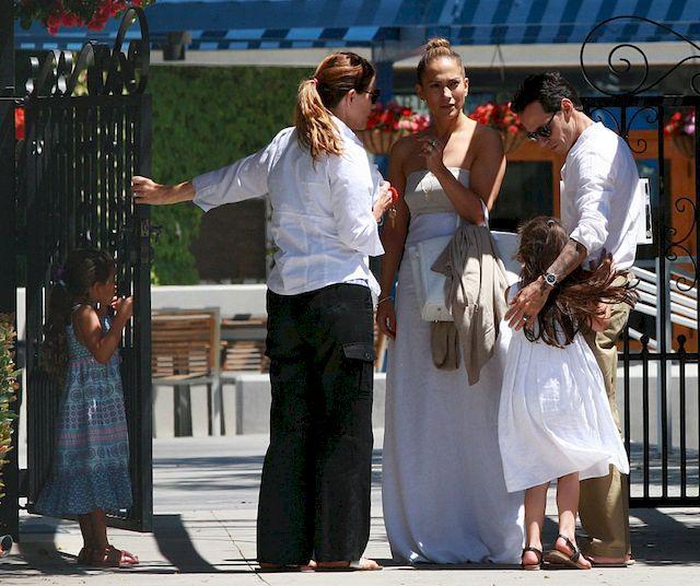 Jennifer Lopez wystąpiła na scenie ze swoim... byłym mężem! (VIDEO)