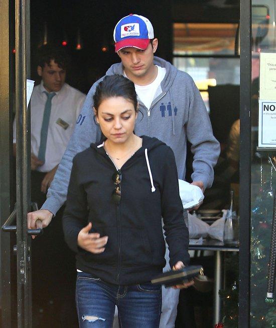 Kunis i Kutcher ciągle na luzie (FOTO)