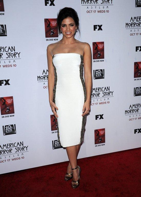 Jenna Dewan w prze�wituj�cej z bok�w sukience (FOTO)