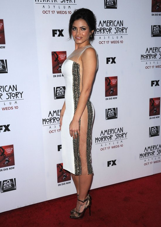 Jenna Dewan w prześwitującej z boków sukience (FOTO)