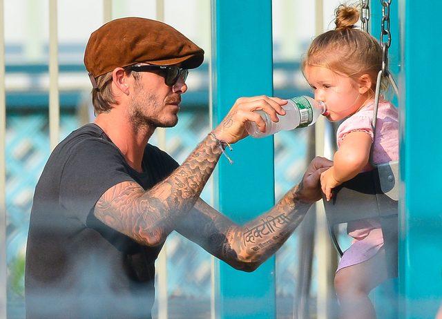 David Beckham pokazał najpiękniejsze zdjęcie w Dniu Ojca