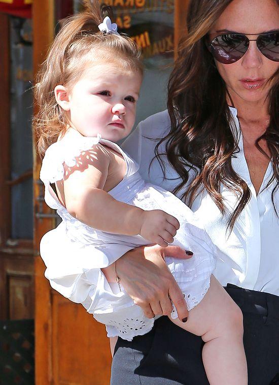 Victoria Beckham - mała, ale silna (FOTO)