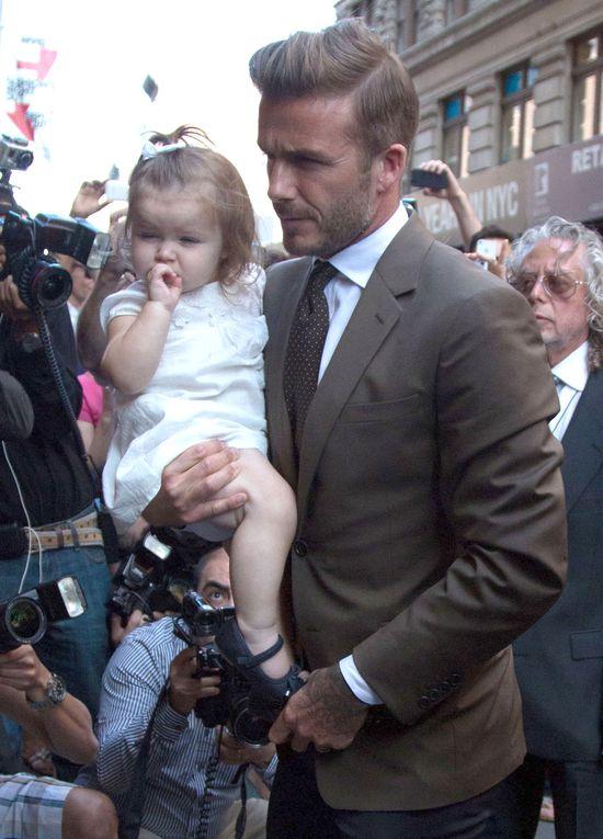 Mała Harper Seven Beckham już bywa na salonach (FOTO)