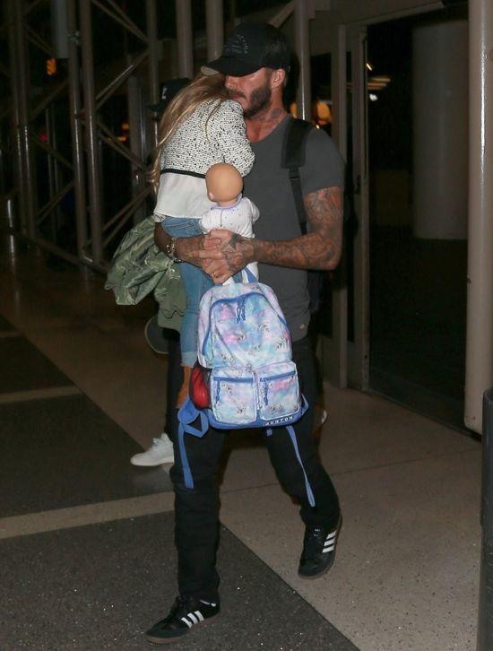 David Beckham udostępnił urocze zdjęcie ze swoją córeczką Harper! (FOTO)