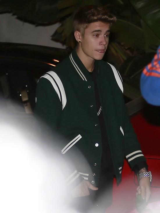 Bieber pojawi� si� na imprezie urodzinowej Seleny Gomez