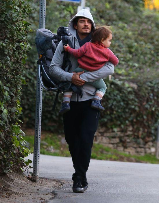 Orlando Bloom leczy problemy małżeńskie wspinaczką (FOTO)