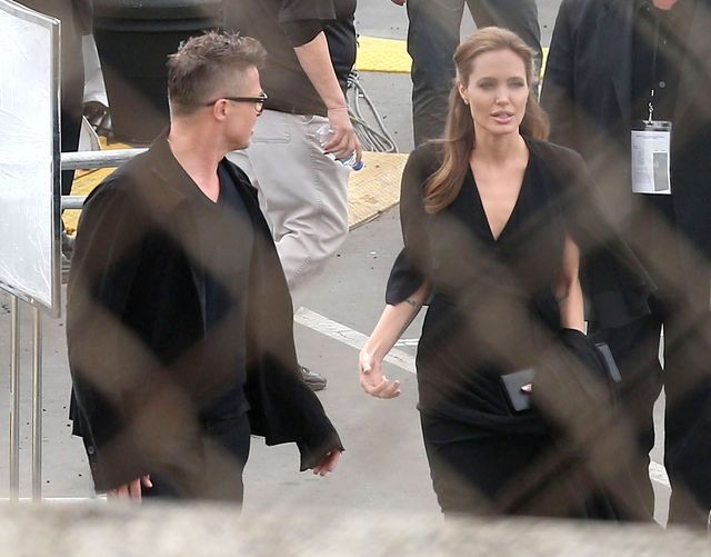 Jolie i Pitt znów ubrani w jednym stylu (FOTO)