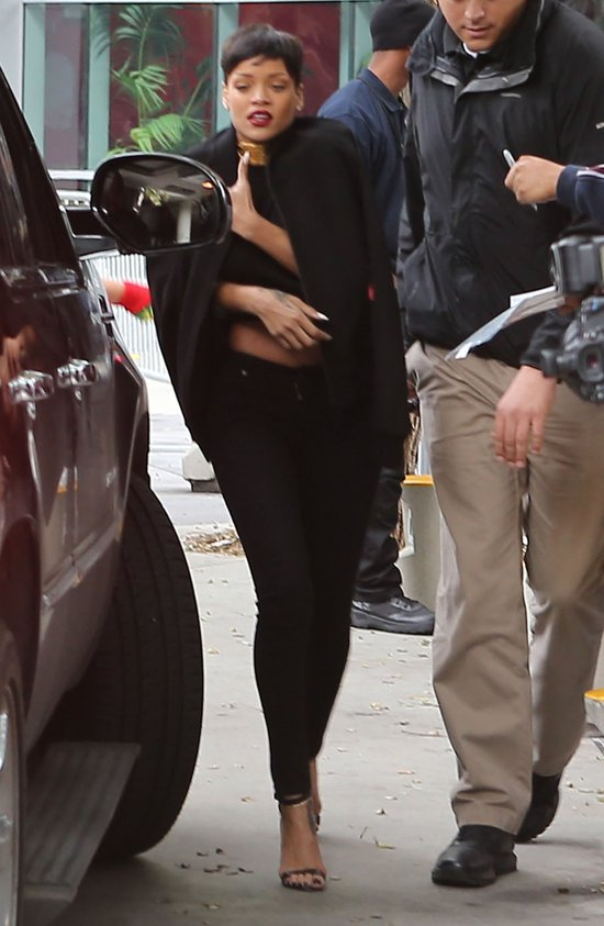 Rihanna i jej święta z Chrisem Brownem (FOTO)